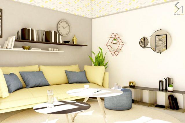 Trang trí nội thất đẹp và đầy đủ tiện nghi mang lại không gian sống hiện đại