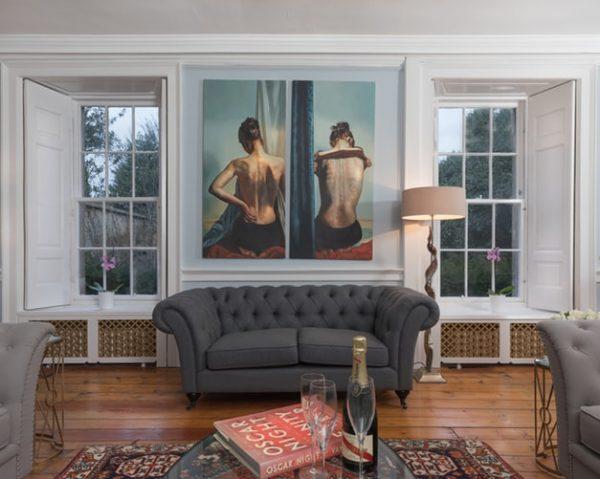 Trang trí nội thất đẹp theo phong cách cổ điển, lộng lẫy cho căn phòng khách