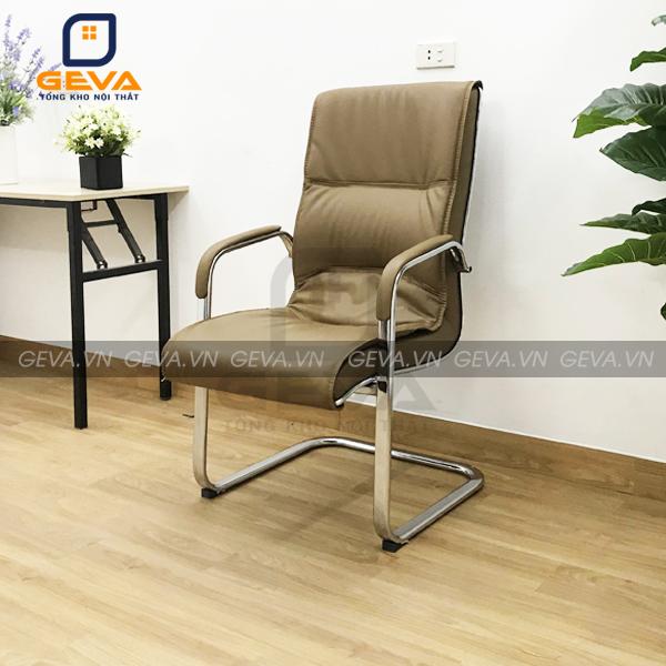 Ghế quỳ đệm lưng cao chân chéo thường được kết hợp với phòng họp