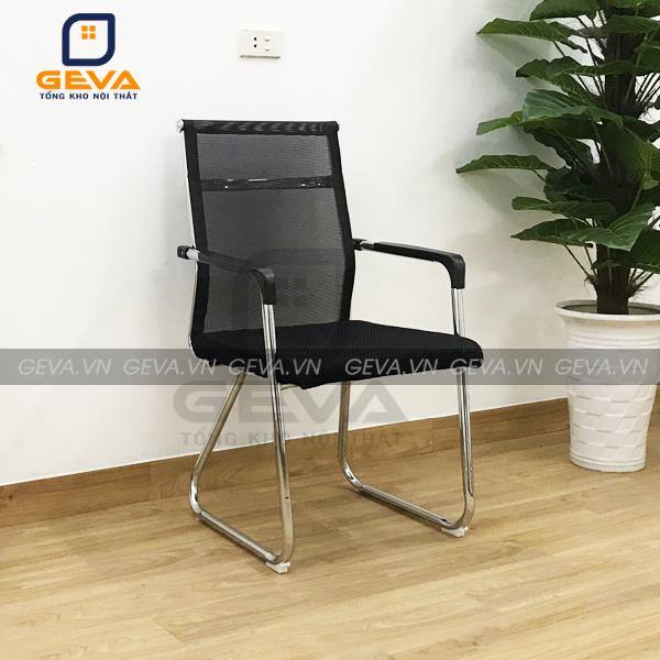 Ghế quỳ mặt đệm cho cảm giác ngồi êm ái Lưới lưng giúp thoáng khí khi ngồi