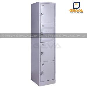 Tủ locker 4 ngăn 1 cột nhỏ gọn