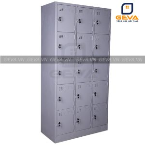 Tủ locker 15 ô khóa đựng đồ