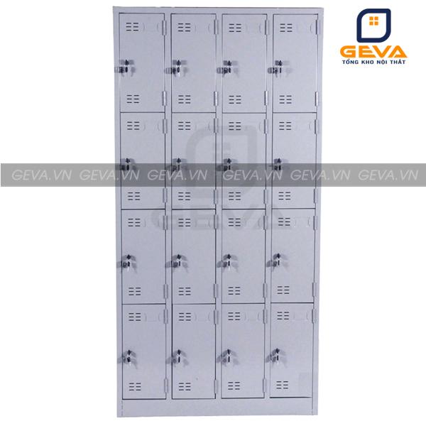 Tủ locker 16 ngăn chứa đồ giá rẻ tại Nội thất Geva