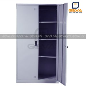 Tủ sắt tài liệu 2 ô khóa