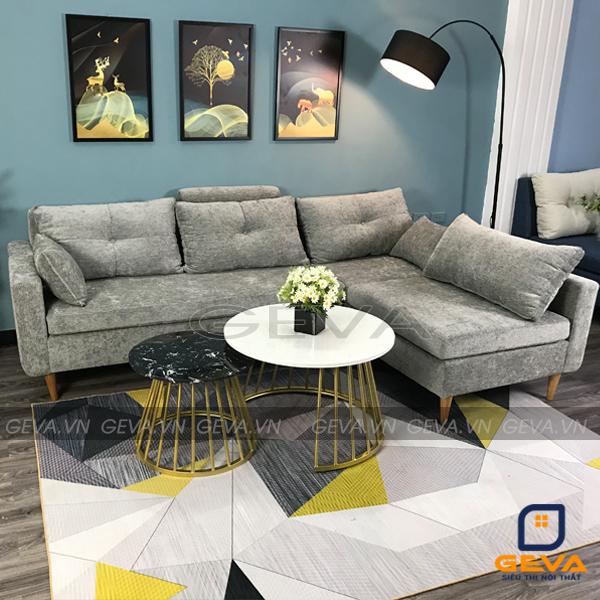Sofa góc nỉ đệm rời thông minh - SG21