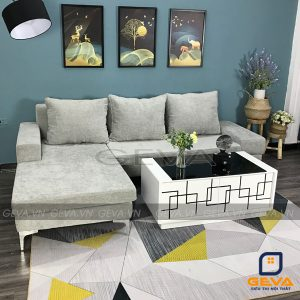 Ghế sofa góc bọc nỉ kèm gối tựa - SG25