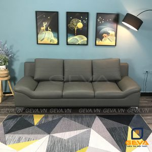 Sofa văng da tựa gối hiện đại - SD20