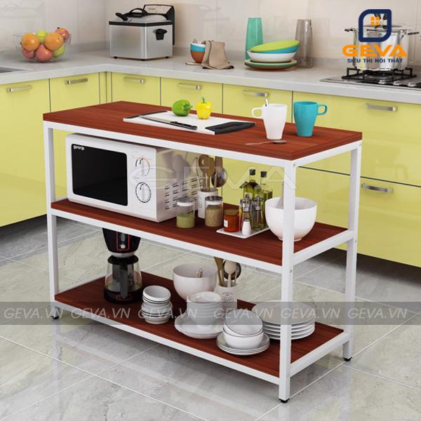 Kệ bếp đa năng KB02 màu đỏ