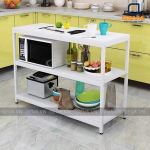 Kệ bếp đa năng KB02 màu trắng