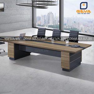 Bàn họp Pavo 3m6 gỗ MDF hiện đại - BH54