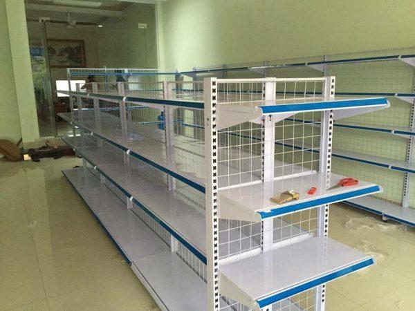 Kệ sắt siêu thị tiện dụng cho siêu thị mini