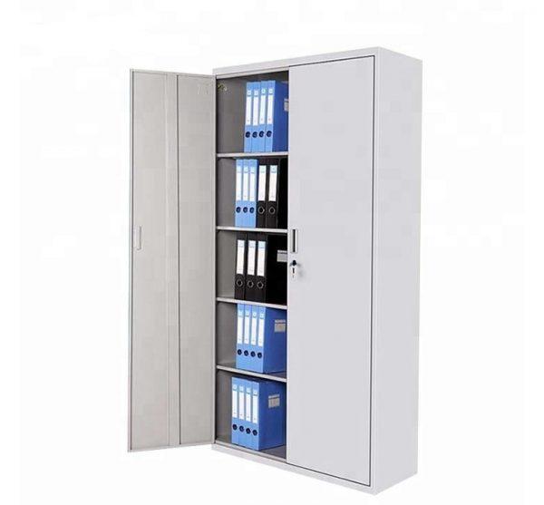 Tủ hồ sơ 2 buồng phổ biến với sắt sơn tĩnh điện bền bỉ
