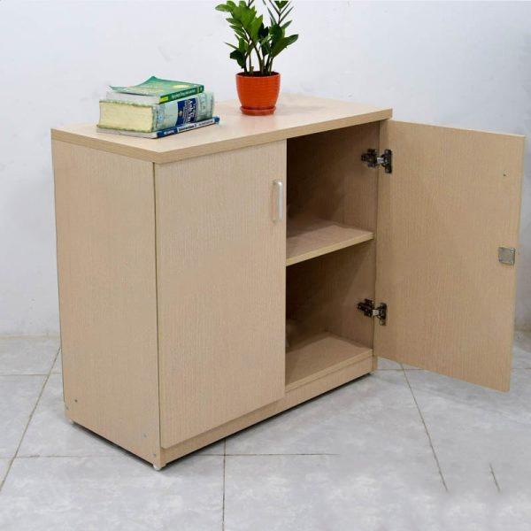 Tủ hồ sơ nhỏ gọn gỗ công nghiệp sử dụng cho phòng nhân viên