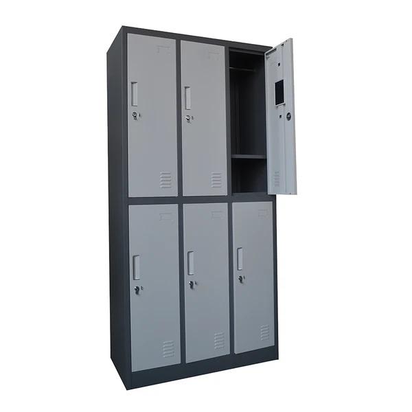 Màu sắc và kiểu dáng tủ locker luôn hiện đại và hợp xu hướng