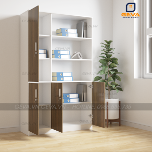Tủ hồ sơ gỗ MDF 120cm - TL41 mang màu sắc hiện đại