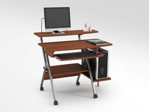 Chọn bàn vi tính có màu sắc trang nhã phù hợp với không gian