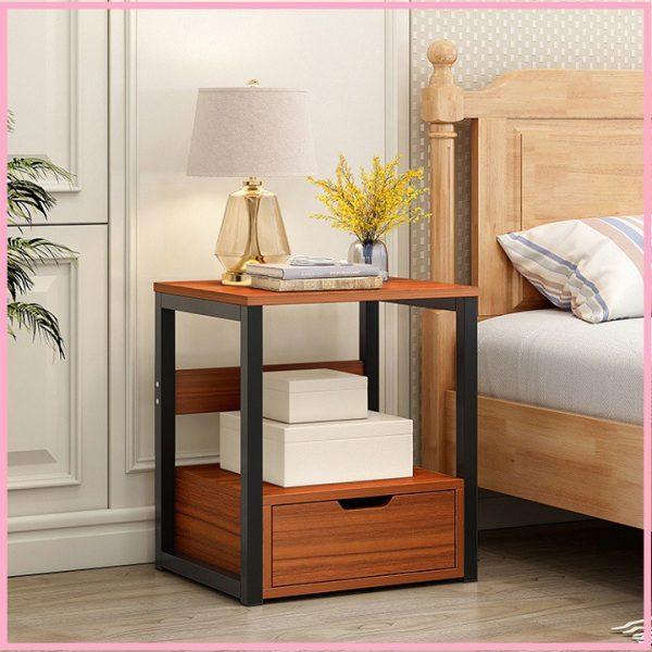 Tủ đầu giường mang lại không gian lưu trữ rộng rãi