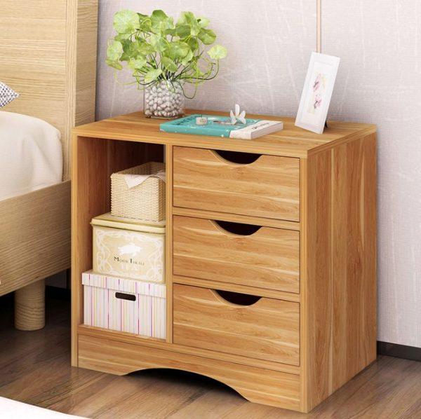 Tủ đầu giường có vai trò rất quan trọng không chỉ chứa đựng các đồ đạc cần thiết mà còn tạo điểm nhấn cho không gian phòng ngủ của bạn