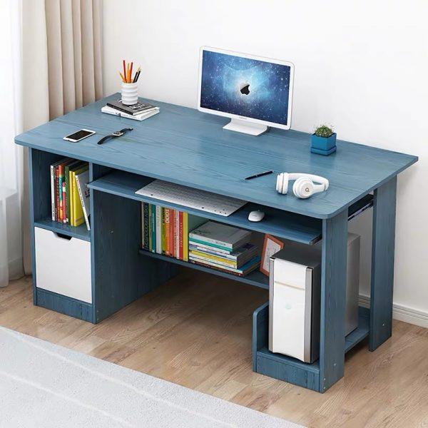 Bàn máy tính đẹp và trẻ trung từ gỗ tự nhiên