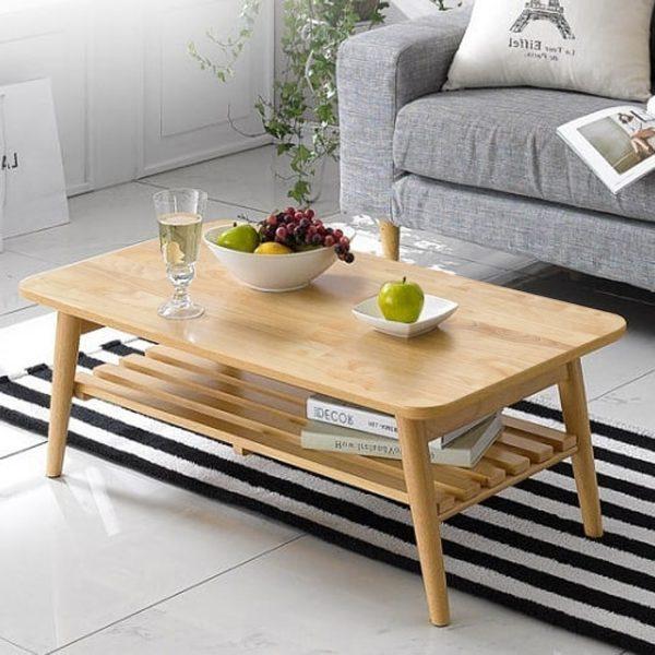 Bàn sofa gọn nhẹ giúp dễ dàng di chuyển từ nơi này sang nơi khác.