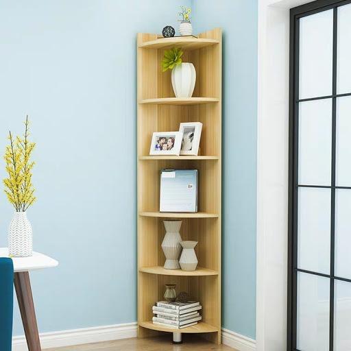 Kệ góc ngày càng phổ biến trong đời sống bởi tính thẩm mỹ và đa năng khi trang trí trong phòng của bạn.