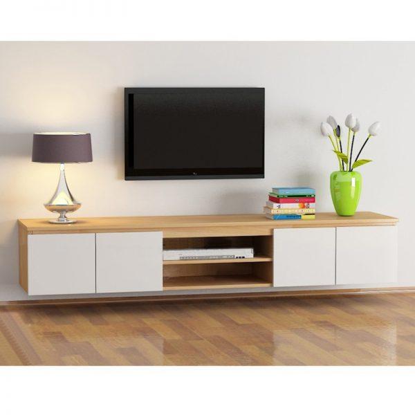 Kệ tivi treo tường giúp tối ưu không gian và đa công dụng giúp bạn sử dụng linh hoạt hơn.